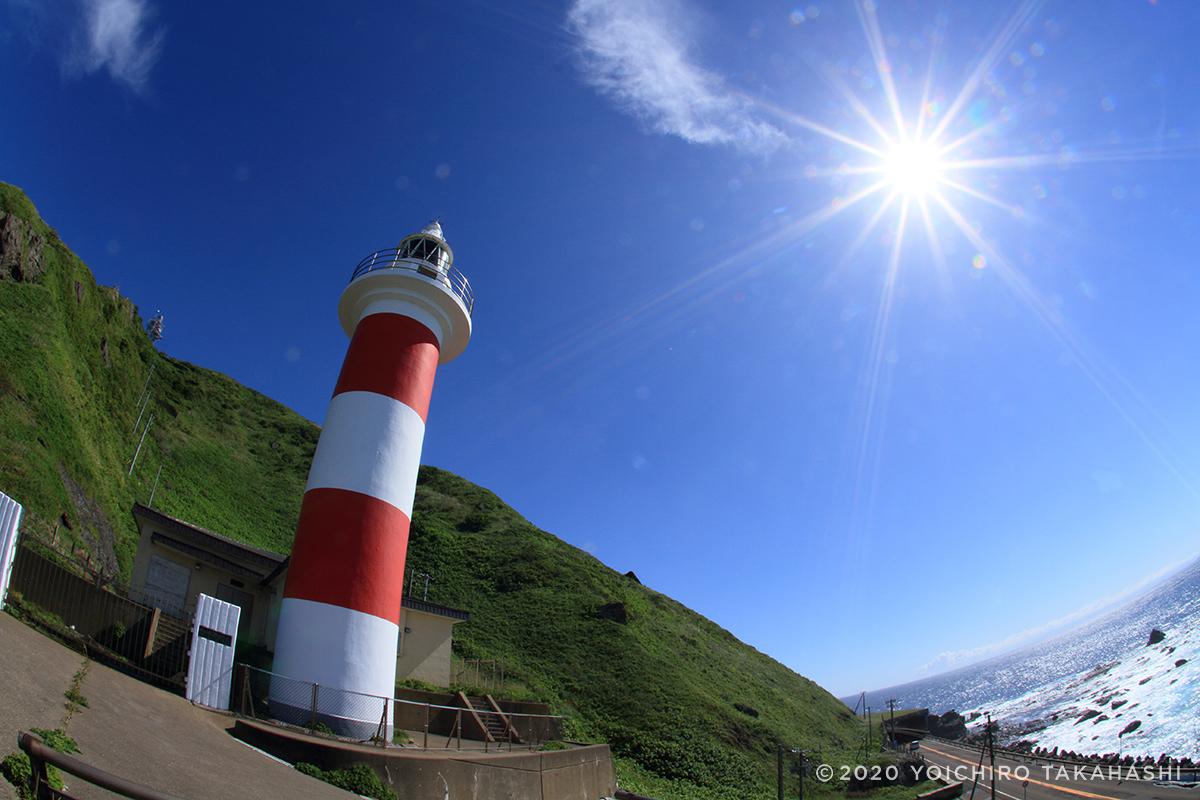 白神岬(しらかみみさき)灯台