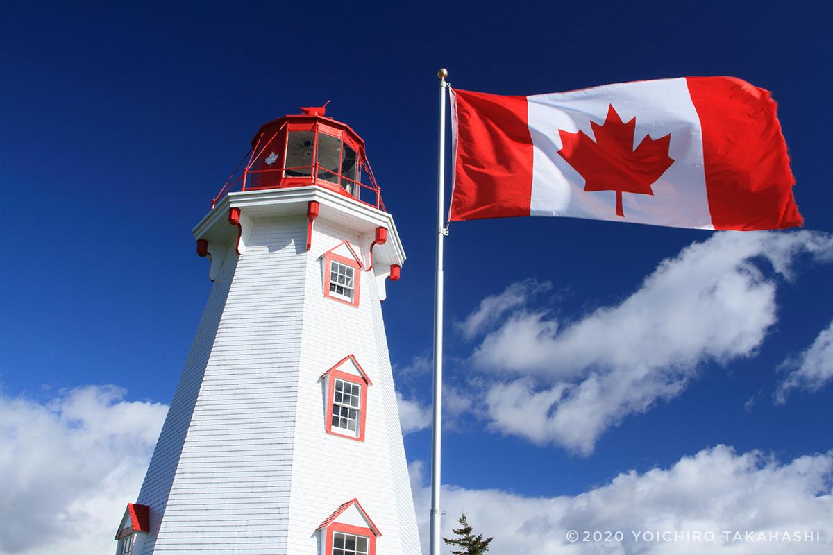 パンミュール島(Panmure Island Lighthouse)灯台