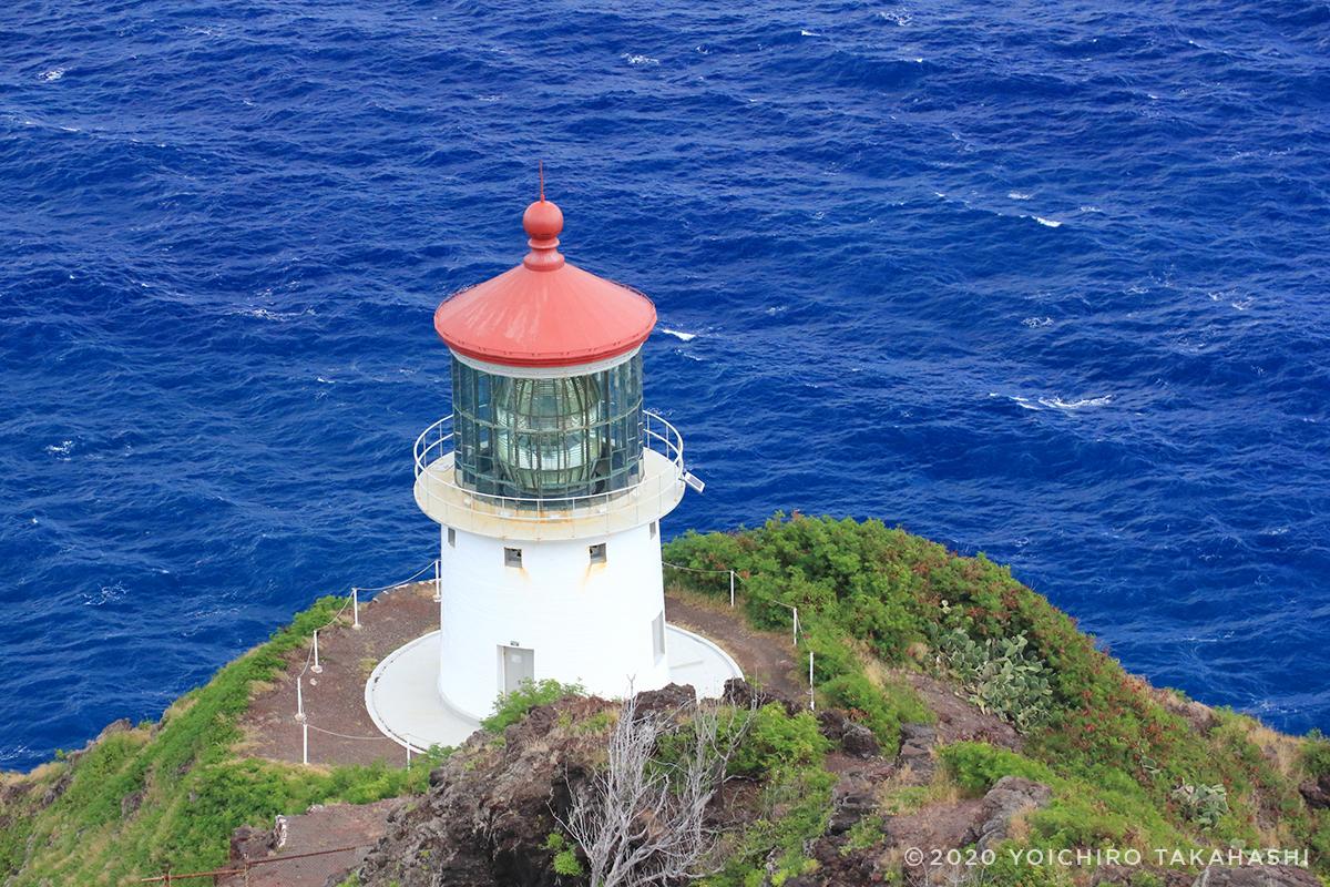 オアフ島マカプゥ灯台